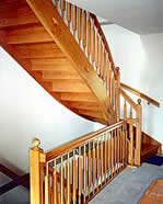 referenzbeispiele der tischlerei andreas weser treppen t ren balkongel nder in buchwalde bei. Black Bedroom Furniture Sets. Home Design Ideas